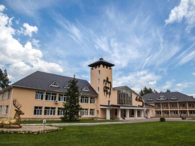 Административно-туристический комплекс, фото Александры Рогозиной)